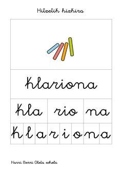 conciencia fonologica segmentacion en Euskera_01 Maila, Language, Math Equations, Learning, Iran, Phonological Awareness, Reading Comprehension, Speech Language Therapy, Writing