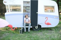 Photoshoot by Red a Cherry Photography. Retro| vintage| vintage caravan| for hire| Violet Rose|