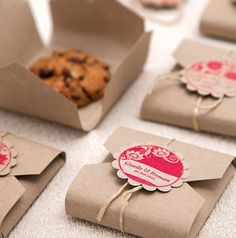 packaging pour mes cookies