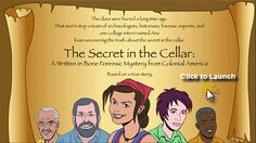 The Secret in the Cellar  A Written in Bone forensic mystery from colonial America
