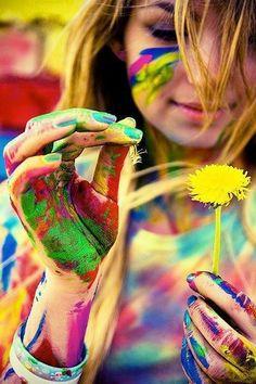 ¡Llena tu vida de color! :)