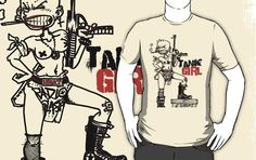 I found 'TANK GIRL T-Shirt by TheWildChild' on Wish, check it out!