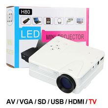 H80 Home Cinema Theater Multimedia LED Cheap Projector HD 1080P AV TV VGA USB…