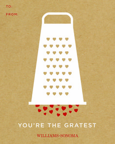 you're the gratest - free printable Valentine's Day card