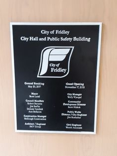 Building plaques can be used for indoor or outdoor metal plaque purposes. Indoor plaques for office doors, plaques for conference rooms, and metal desk placards. Outdoor building plaques for dedications, wayfinding, or memorializing.