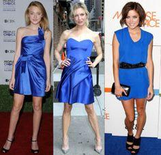 Que zapatos Usar con Vestido Azul Eléctrico - Para Más Información Ingresa en: http://zapatosdefiestaonline.com/2014/01/29/que-zapatos-usar-con-vestido-azul-elctrico/