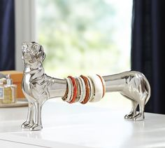Dachshund Bracelet Holder | Pottery Barn
