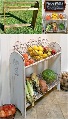 Amazing Interior Design  Amazing Diy Produce Storage Ideas For Your Kitchen Country Home Decorating