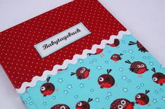 Babytagebuch Vögelchen von Sweet Homemade Things by christina prinz auf DaWanda.com