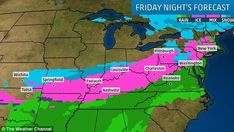 Northeast could be hit with snow this weekend as Minnesota experiences coldest April in 36 years -  A snowstorm could possibly hit New York and other areas of the Northeast Thursday into Friday morning  The current update calls for a coating or less with the northern interior region seeing up to two inches of snow  There's a possibility that Monday and Tuesday will also see snow but it's a little too early to know how that storm will play out  Earlier in the week Minnesota suffered the…