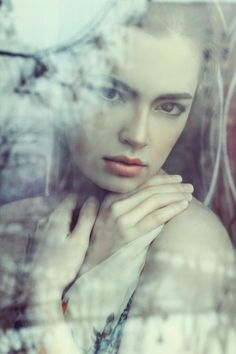 I love this, but most of all the cool tones in this image. Very beautifully done. Women portraits by Lena Dunaeva