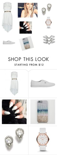 """""""day at the beach"""" by lillilykitty ❤ liked on Polyvore featuring Vans, Marc by Marc Jacobs, Stella & Dot and white"""