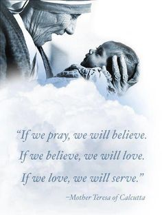 mother teresa-Beautifully and clearly said!