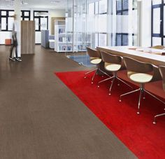 Marmoleum 'Real' Sheet - Glue Down Flooring: Green Building Products, Sustainable Materials   Greenhome Solutions Fake Wood Flooring, Vinyl Sheet Flooring, Luxury Vinyl Tile Flooring, Click Flooring, Palette, Vinyl Sheets, Green Building, Indoor Air Quality, Stripes Design