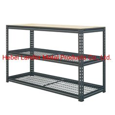 Industrial Bench for The Interior, Model NO.: LD104 Weight: 600kgs Closed: Open Development: New Type Serviceability: Common Use Trademark: Landor Transport Package: Carton and Pallet Specification: H540xW1200xD400 Origin: Hebei, China HS Code: 73269090, Port: Tianjin, China         Production Capacity:500PCS/DayPayment Terms:L/C, T/T                          Usage:Industrial, Warehouse Rack, The GarageMaterial: Steel and WoodStructure: ShelfType: Boltless/Rivet RackingMobility…
