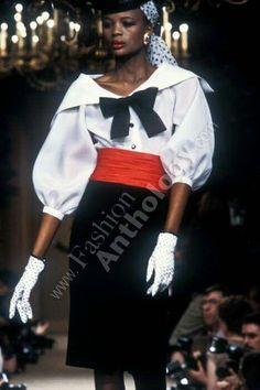 Yves Saint Laurent | Spring 1984