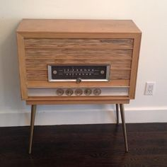 Mid Century Modern 1950's radio/ console in Hunters Point, Queens ~ Krrb Classifieds