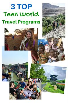 3 Top Teen World Travel Programs for Experiences of a Lifetime Student Travel, Group Travel, Family Travel, Teen Volunteer, Volunteer Abroad, Teen World, Tourist Sites, Teen Summer, Adventure Bucket List