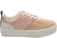 Tênis Newport Cow Suede New Sand Sola Alta - FIEVER ONLINE STORE