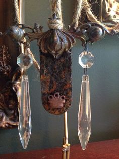 Ornament  salvaged architectural hardware with by SalvageBucket