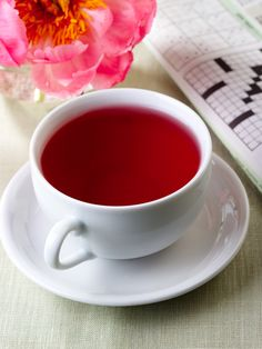 Scarlet Glow Tea | $21. This tea is a lively, sweet, and fruity blend of hibiscus and elderflower. Available at: manykitchens.com