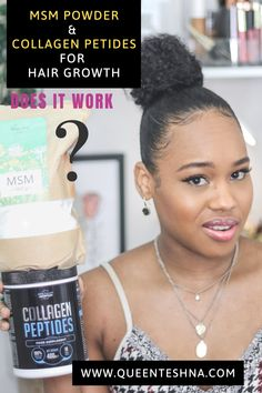 We all want long flourishing hair and some supplements such as MSM powder is known to fast track that process of growing your hair! so does it work or is it worth the hype? I sharing my honest experience of taking these supplements for over two months! Click the link below to hear my thoughts on taking these supplements. #naturalhairgrowth #msmpowder #hairgrowthsupplements #collagenpeptides Natural Hair Growth Tips, How To Grow Natural Hair, Natural Hair Styles, Healthy Hair Tips, Healthy Hair Growth, Hair Topic, How To Grow Your Hair Faster, Curly Hair Tips, Hair Products
