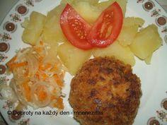 Sójové karbanátky s mrkví - Naše Dobroty na každý den Mashed Potatoes, Ethnic Recipes, Food, Cook, Whipped Potatoes, Smash Potatoes, Essen, Meals, Yemek
