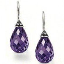 thomas sabo purple taper diamond earrings.....oooooh...aaaaahhh!