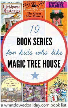 Alternative books for kids who like magic tree house