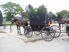 the amish are an great example of a subculture they live in  amish people parking flickr photo sharing