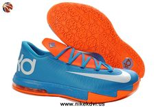 factory price 94883 5e9fc Find Girls Nike KD 6 Blue Orange White For Sale Super Deals online or in  Pumarihanna. Shop Top Brands and the latest styles Girls Nike KD 6 Blue  Orange ...