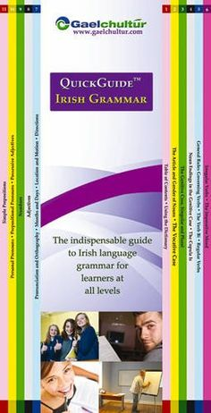 AmazonSmile: QuickGuide Irish Grammar: The Indispensable Guide to Irish Language Grammar for Learners at All Levels (English and Irish Edition) (9780956361424): Eamonn O Donaill, Helen Hegarty: Books