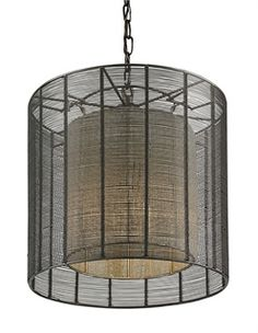 Light up your house with the Cooksbridge Pendant chandelier from Currey & Company.