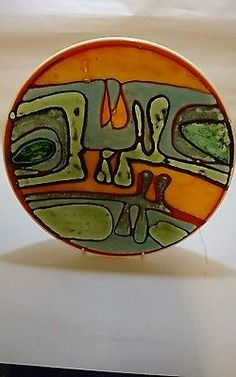 Amazing poole pottery delphis shape 4