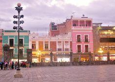 """La """"Ciudad de los Ángeles"""": Puebla, Puebla - Centro Histórico. Cuenta la leyenda que fueron los mismos ángeles, los que trazaron y dieron forma a la ciudad de Puebla, capital del estado del mismo nombre."""