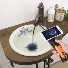 A waterproof inspection camera that's both practical and whimsical, depending on how you use it.
