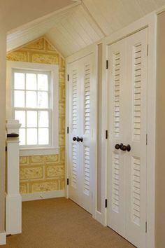 Vented louver doors- ideal for closets and laundry rooms where air-flow is preferred | TruStile Interior MDF