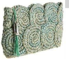 Resultado de imagem para crochet clutch bag schema