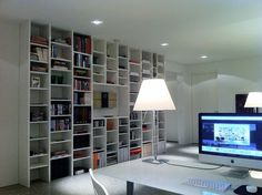 MY ENTIRE MAC OFFICE SPACE by iBSSR  who loves comments on his images, via Flickr