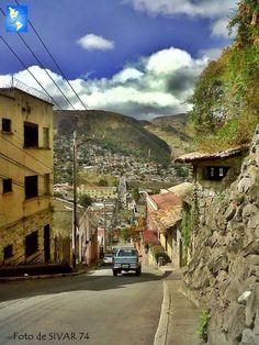 La cuesta Lempira, Tegucigalpa, Honduras