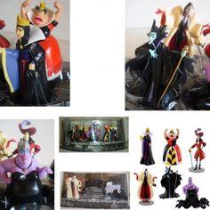 DISNEY VILLAINS FIGURE PLAYSET CAKE TOPPERS 6PC Evil Queen Maleficent Captain Hook Queen of Hearts Cruella De Vil Ursula by Disney, http://www.amazon.com/dp/B00BN1Y89Y/ref=cm_sw_r_pi_dp_e99prb14ZMT9V