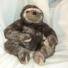 My eBay: Active Sloth Teddy, Sid The Sloth, Cute Sloth, Teddy Bear, Realistic Stuffed Animals, Glam And Glitter, Pop Dolls, Bear Doll, Party Bag Fillers
