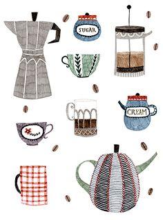 Illustration: Abigail Halpin ~ Seen on HappyMakersBlog.com