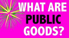 PHILOSOPHY - Rational Choice Theory: What are Public Goods? [HD]