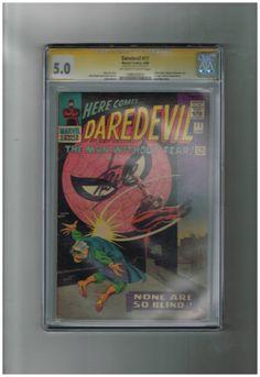 DAREDEVIL #17 CGC 5.0 Signature Series signed by Stan Lee! http://r.ebay.com/rt0TSm