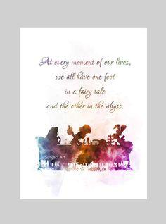 * Beschikbare maten 10 x 8 Inches---(254 x 203 mm) (A4) 11.70 x 8.27 Inches---(297 x 210 mm) Koop direct van de kunstenaar Originele Art Print Alice In Wonderland Tea Party citeer afbeelding gemaakt met gemengde technieken en een eigentijds Design Op elk moment van ons leven, we