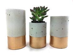 Concrete Succulent Planters / Air Plant Holders. Urba pla...
