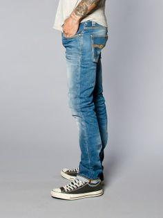 Grim Tim Organic Used Indigo - Nudie Jeans Co Online Shop