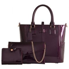 SHARE & Get it FREE | Stylish Patent Leather and Solid Color Design Women's Tote BagFor Fashion Lovers only:80,000+ Items·FREE SHIPPING Join Dresslily: Get YOUR $50 NOW!