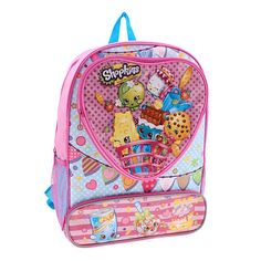 "Shopkins Hearts 16 inch Backpack - Global Design Concepts - Toys ""R"" Us"
